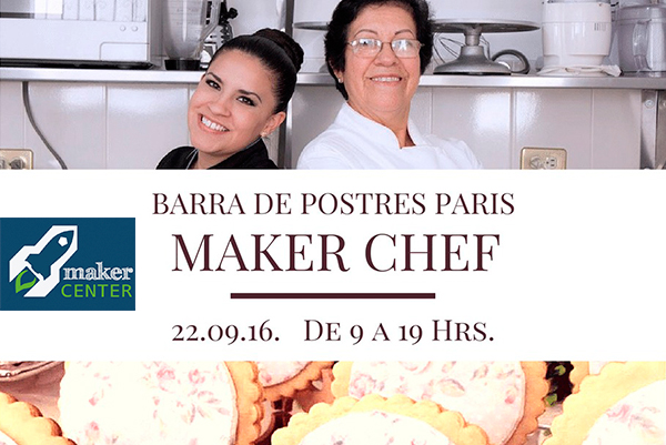 Maker Chef: Barra de Postres París
